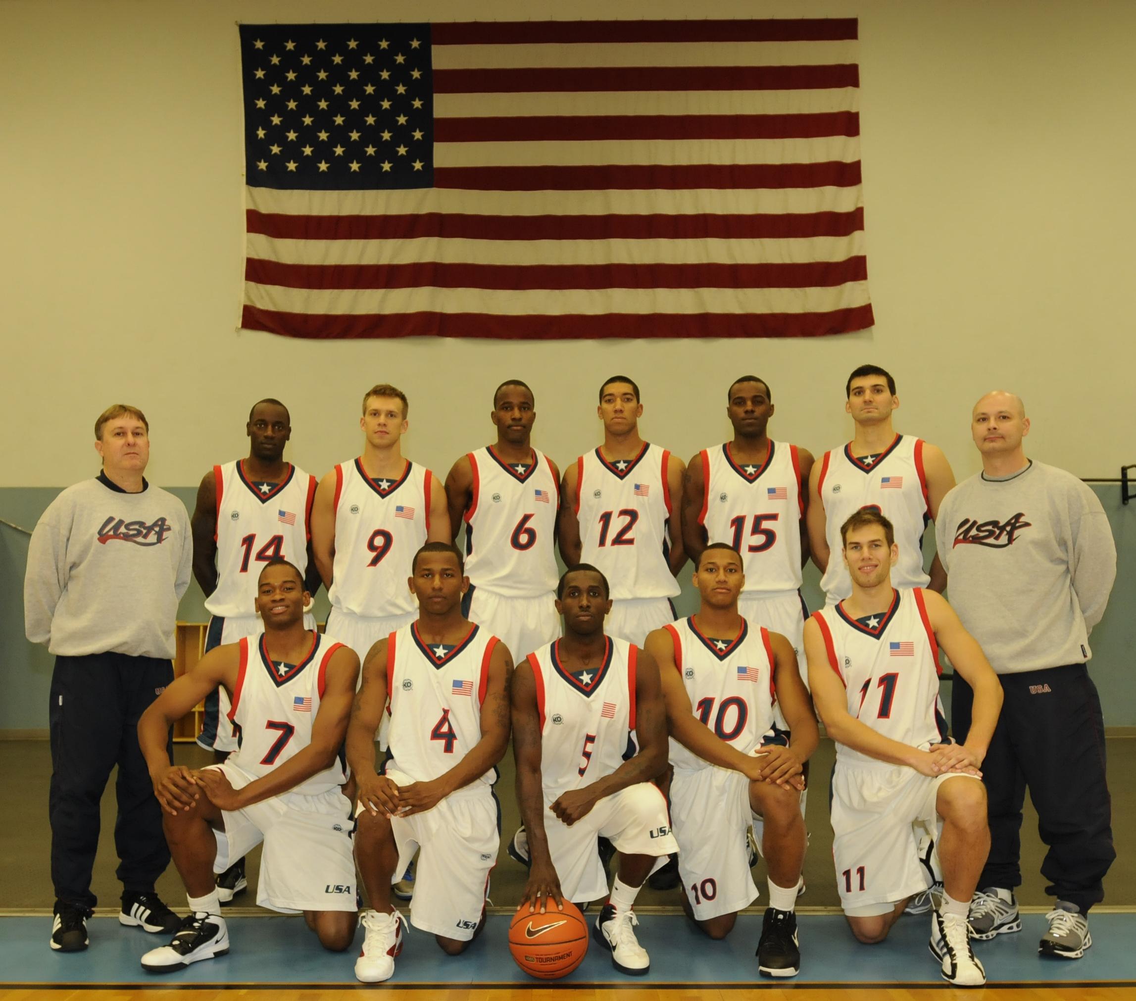 army basketball team